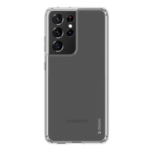 Накладка Deppa Gel Pro для Samsung Galaxy S21 Ultra, прозрачный