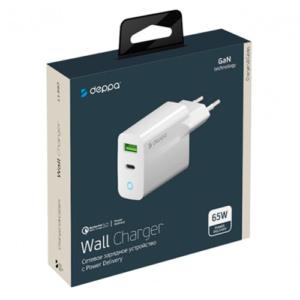 Сетевое зарядное устройство Deppa USB Type-C, 65W