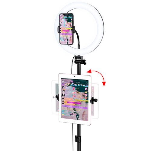 Кольцевая лампа напольная Hoco LV02 Aesthetic light для стримов