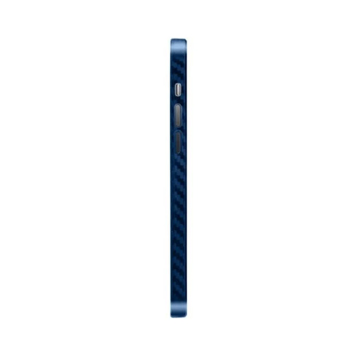 Ультратонкий чехол из углеродного волокна Air Carbon для iPhone 12 Pro, синий