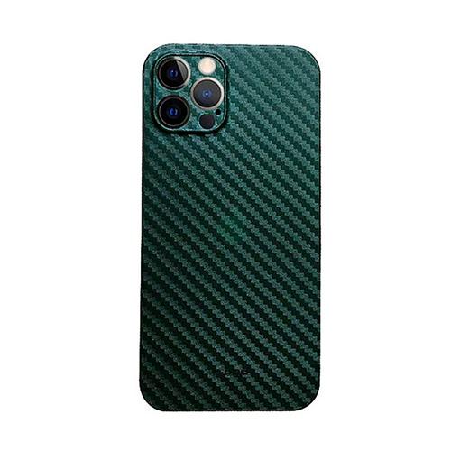Ультратонкий чехол из углеродного волокна Air Carbon для iPhone 12 Pro Max, зеленый
