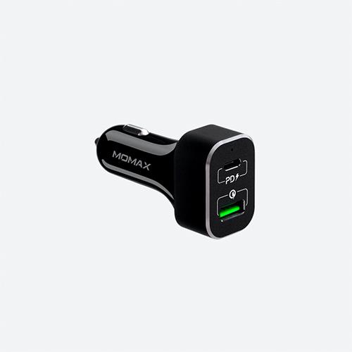 Автомобильное зарядное устройство Momax 2xUSB Quick Charge 3.0 63W
