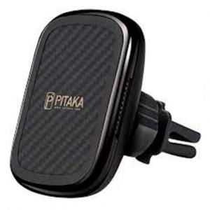 Автомобильный держатель с зарядкой Pitaka MagEZ Mount Qi Car Vent для решетки