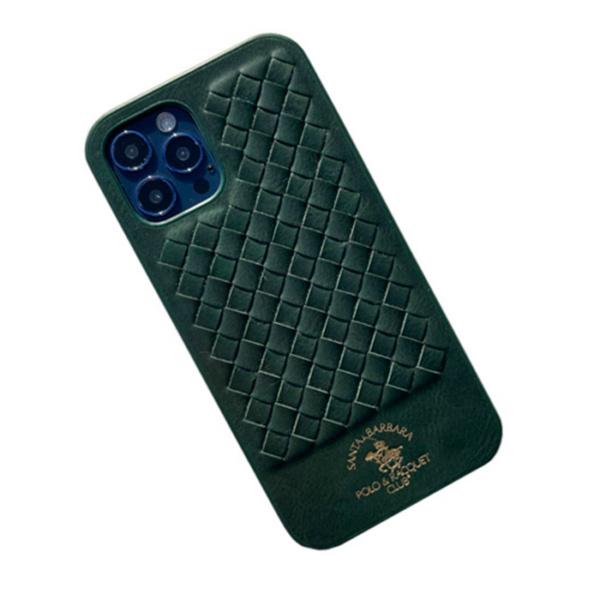 Чехол накладка Santa Barbara Ravel для Apple iPhone 12 Pro Max зеленый