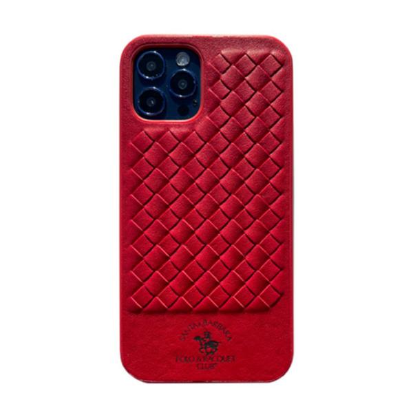 Чехол накладка Santa Barbara Ravel для Apple iPhone 12 Pro Max красный