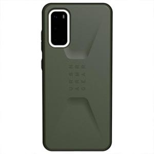 Чехол Uag Civilian для Samsung Galaxy S20 оливковый (Olive Drab)