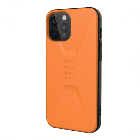 Противоударный чехол Uag Civilian для iPhone 12 Pro Max 6.7″ оранжевый (Orange)