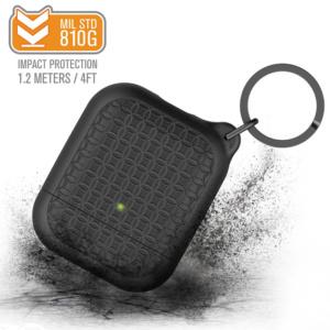 Защитный чехол Catalyst Keyring Case для AirPods 1/2, черный (Stealth Black)