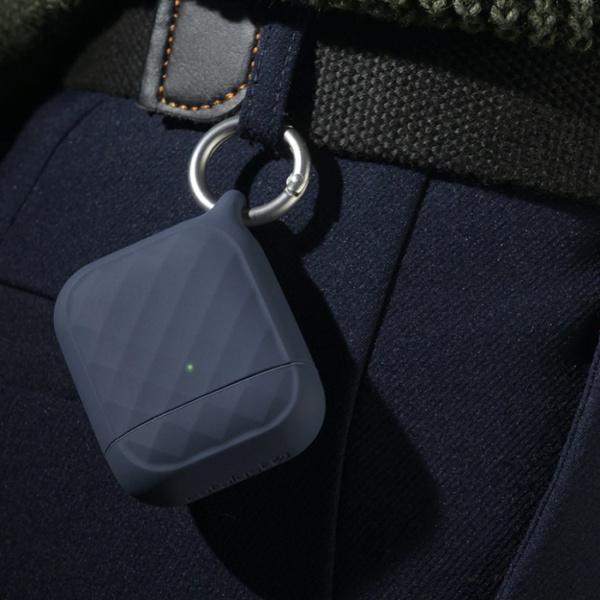 Защитный чехол Catalyst  Ring Clip Case для AirPods 1/2, темно-синий (Midnight Blue)