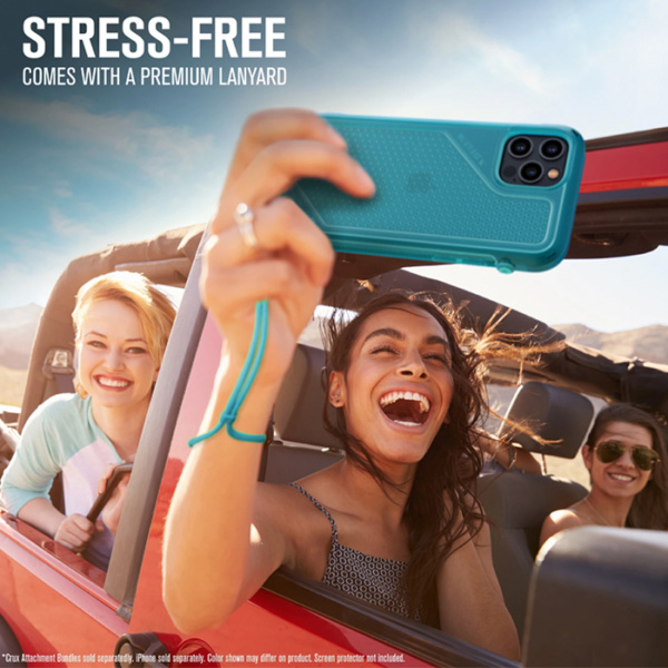 "Противоударный чехол Catalyst Vibe Series Case для iPhone 12 Pro Max 6.7"", голубой (Bondi Blue)"