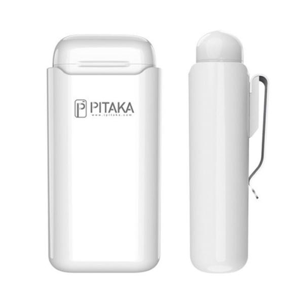 Чехол Pitaka Air Pal 1200mAh для AirPods/AirPods II, белый