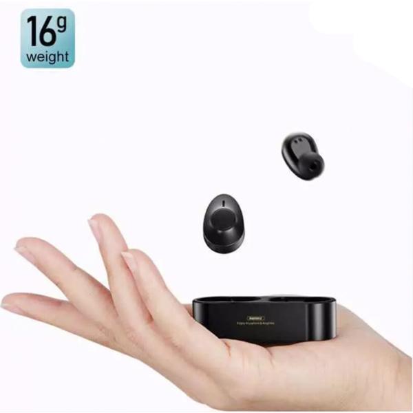 Беспроводные наушники Remax TWS-21 Stereo Hifi Wireless, черный