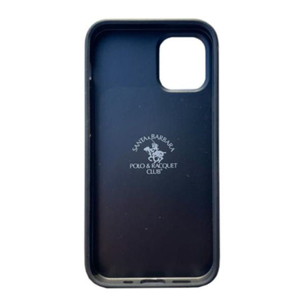 Чехол накладка Santa Barbara Ravel для Apple iPhone 12 mini черный