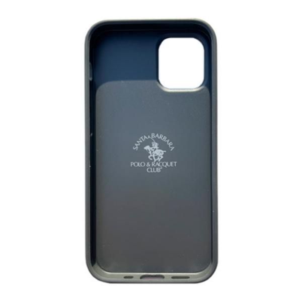 Чехол накладка Santa Barbara Ravel для Apple iPhone 12 mini серый