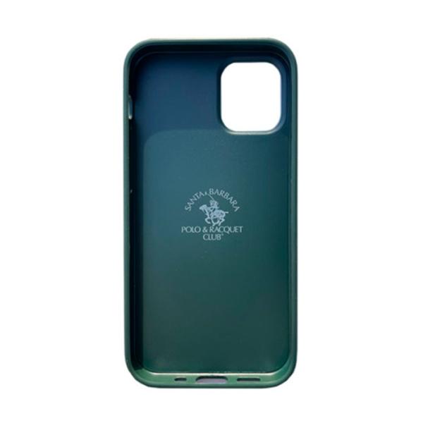 Чехол накладка Santa Barbara Ravel для Apple iPhone 12 mini зеленый
