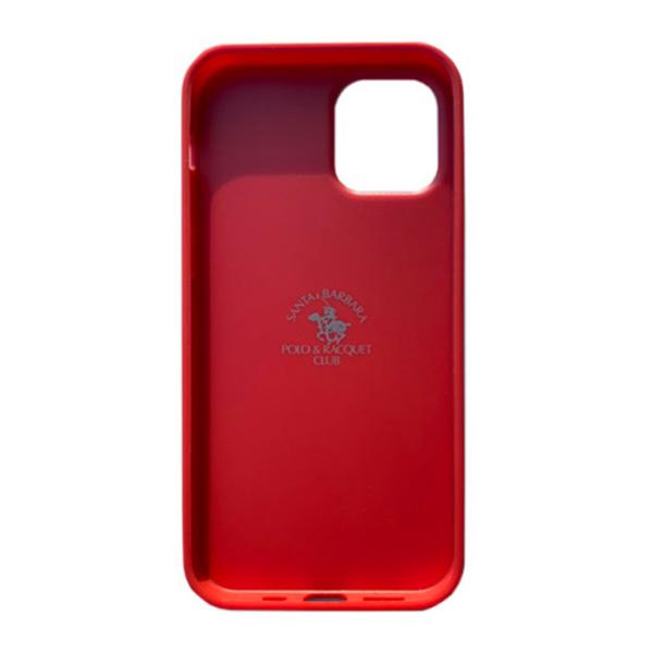 Чехол накладка Santa Barbara Ravel для Apple iPhone 12 mini красный