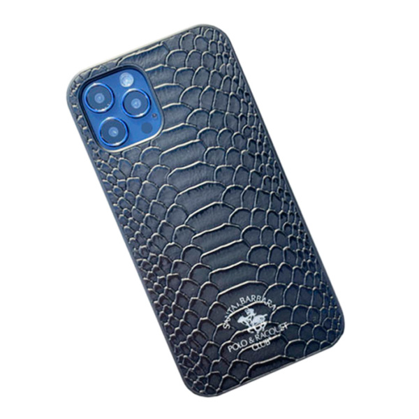 Чехол накладка Santa Barbara Knight для Apple iPhone 12/12 Pro черный