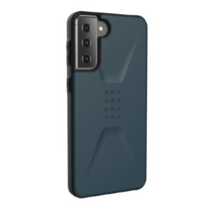 Противоударный чехол Uag Civilian для Samsung Galaxy S21 Plus темно-синий (Mallard)