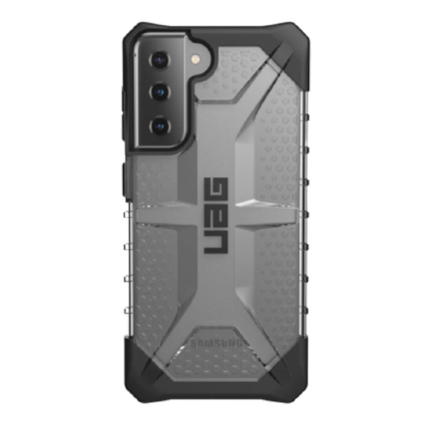 Противоударный чехол Uag Plasma для Samsung Galaxy S21 Plus прозрачный (Ice)