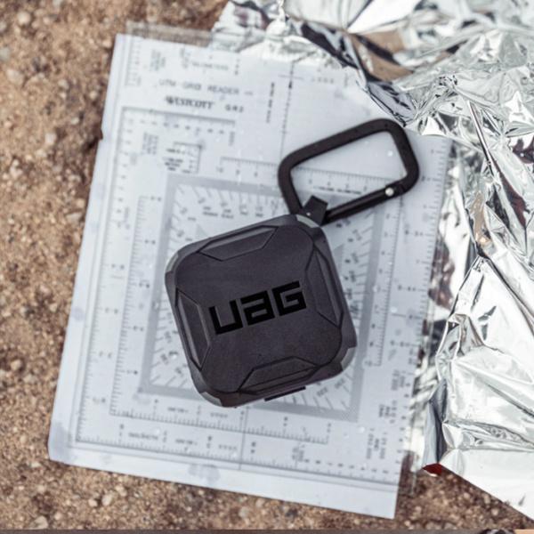 Чехол UAG для Samsung Galaxy Buds Live, черный-серый (Black/Grey)