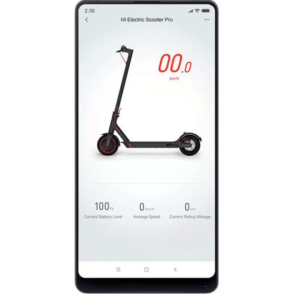 Электросамокат Mijia Xiaomi M365 Pro