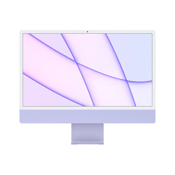 "Моноблок Apple iMac 24"" Retina 4,5K (M1 8C CPU, 8C GPU) 8 Гб, 256 Гб SSD Фиолетовый Z130000BKRU/A"