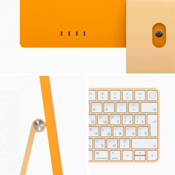 "Моноблок Apple iMac 24"" Retina 4,5K (M1 8C CPU, 8C GPU) 8 Гб, 256 Гб SSD Желтый Z12S000BKRU/A"