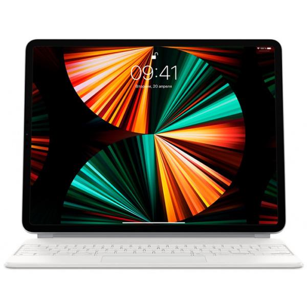 Чехол-клавиатура Apple Magic Keyboard для iPad Pro 12.9 5-го поколения (2021) Белый