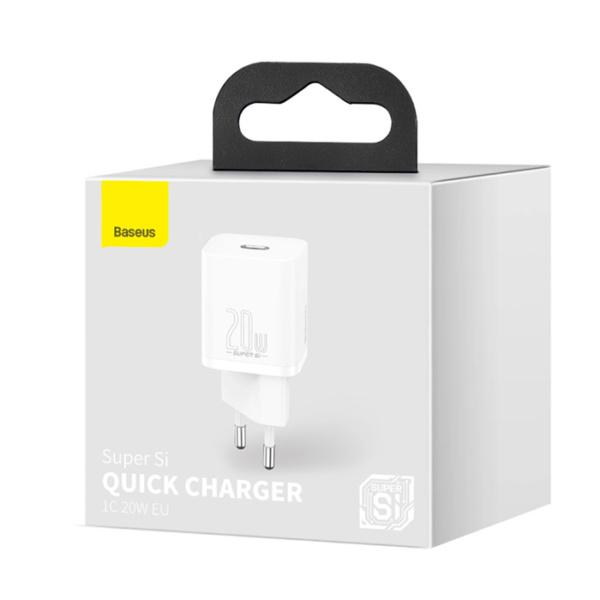 Сетевое зарядное устройство Baseus USB-C 20W (Белый)