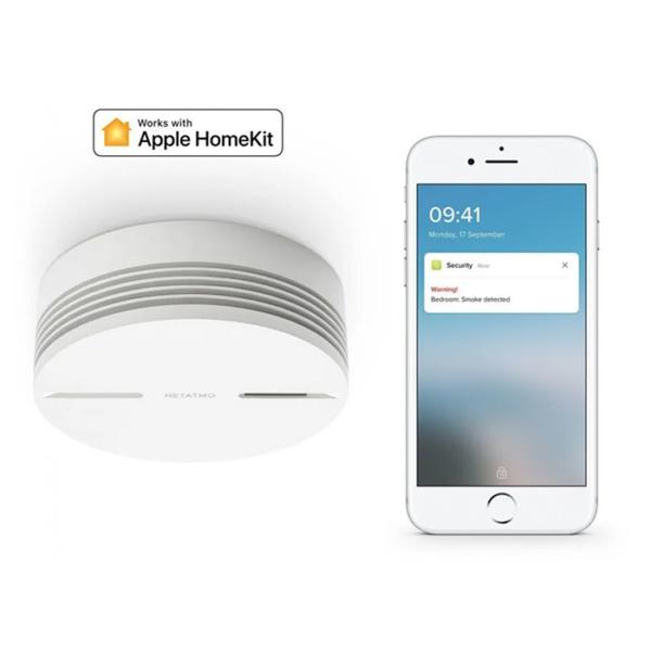 Датчик дыма Netatmo Smart Smoke Alarm (детектор угарного газа)