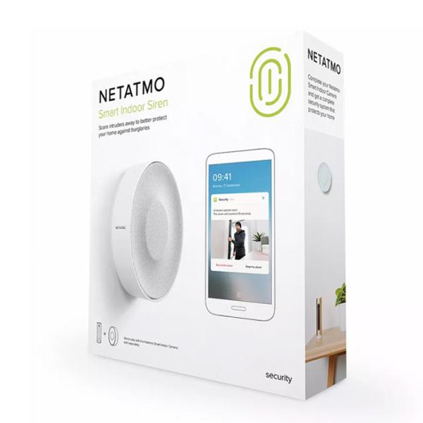 Умная сирена Netatmo Smart Indoor Siren (NIS01-EU)