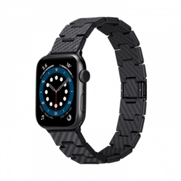 Карбоновый браслет Pitaka Classic для Apple Watch 38/40мм