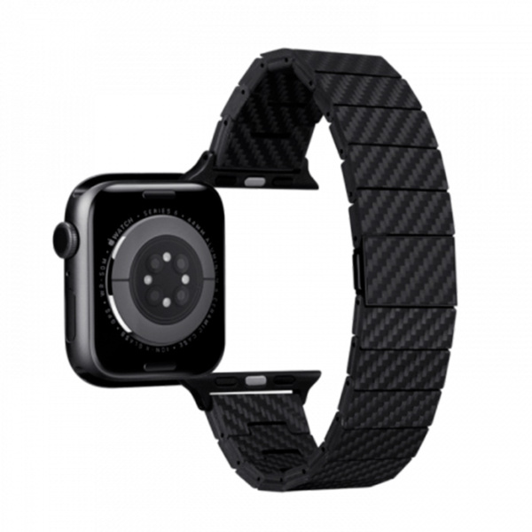 Карбоновый браслет Pitaka Elite для Apple Watch 42/44мм